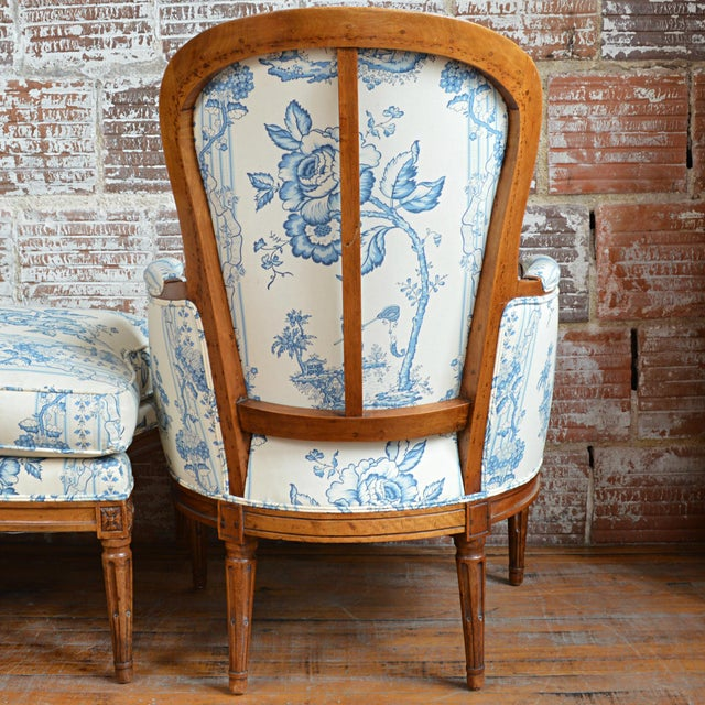 Late 18th Century French Provincial Duchesse Brisée For Sale In Greenville, SC - Image 6 of 11