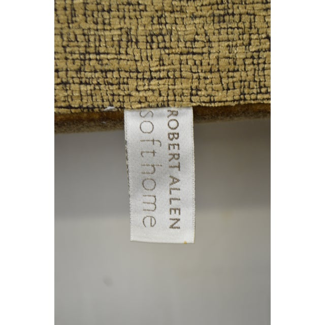 Robert Allen Tufted Upholstered Full Size Headboard For Sale In Philadelphia - Image 6 of 9