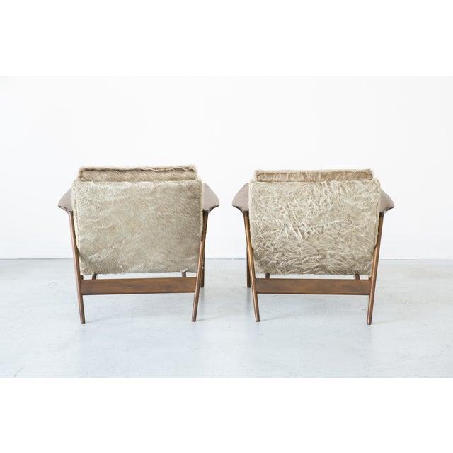 Ib Kofod-Larsen Lounge Chairs - A Pair - Image 4 of 11