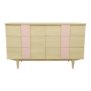 Midcentury Six Drawer Dresser