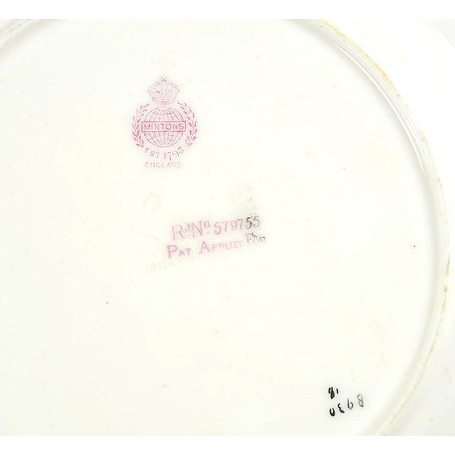 Ceramic Minton #B930 Salad Plate - Set of 8 For Sale - Image 7 of 8
