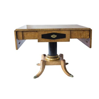 Swedish Karl Johan Biedermeier Table For Sale