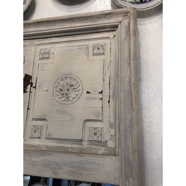 Antique French Trumeau Mirror For Sale - Image 4 of 13