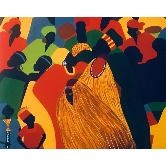 """1996 Black Heritage Art Show """"Celebration"""" Poster by Synthia Saint James For Sale - Image 4 of 11"""