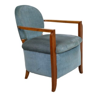Pair of French 1940s Armchairs For Sale