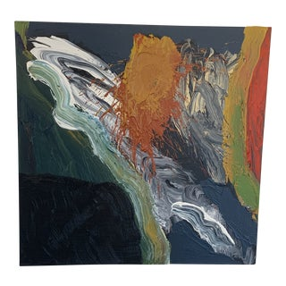 Abstract Expressionist Painting Stanley Dean Edwards For Sale