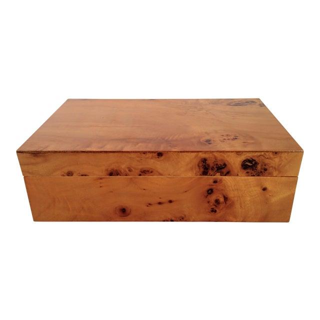 Burl Wood Box - Image 1 of 10