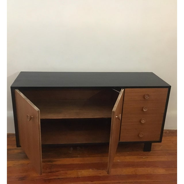 1950s George Nelson Walnut Credenza Herman Miller Mid Century Modern Eames Era For Sale - Image 5 of 11