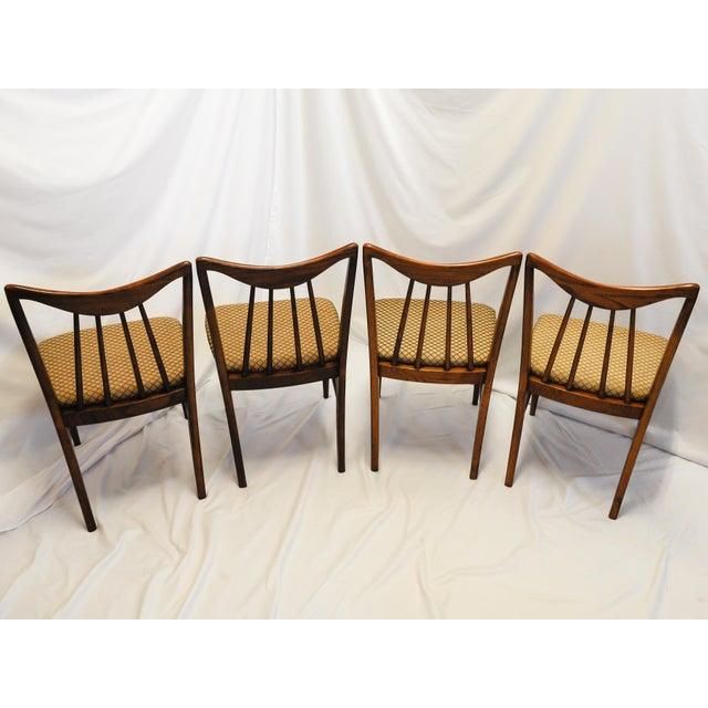 Mid-Century Danish Walnut Dining Chairs By Keller