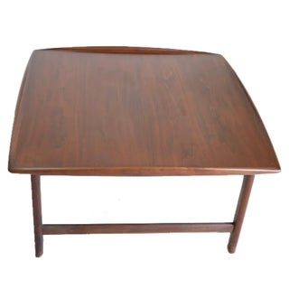 Danish Mid Century Modern Teak Coffee Table For Sale