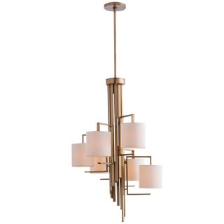 Arteriors Elijah Brass Chandelier For Sale