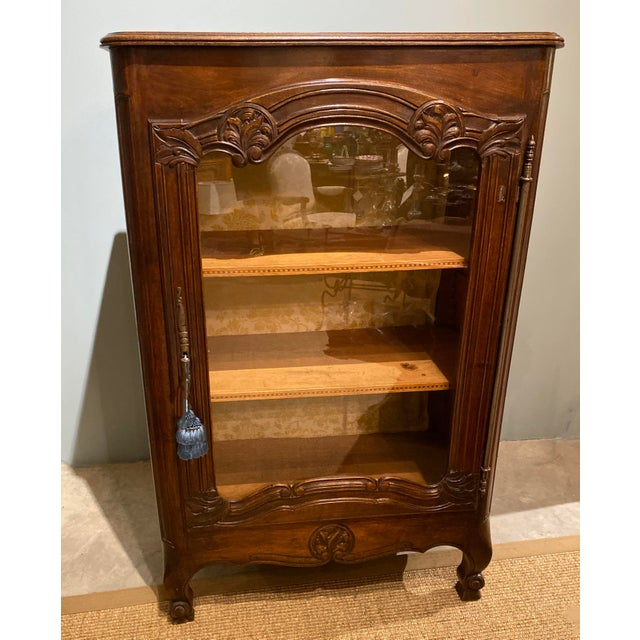 19th Century 19th Century French Display Cabinet For Sale - Image 5 of 5