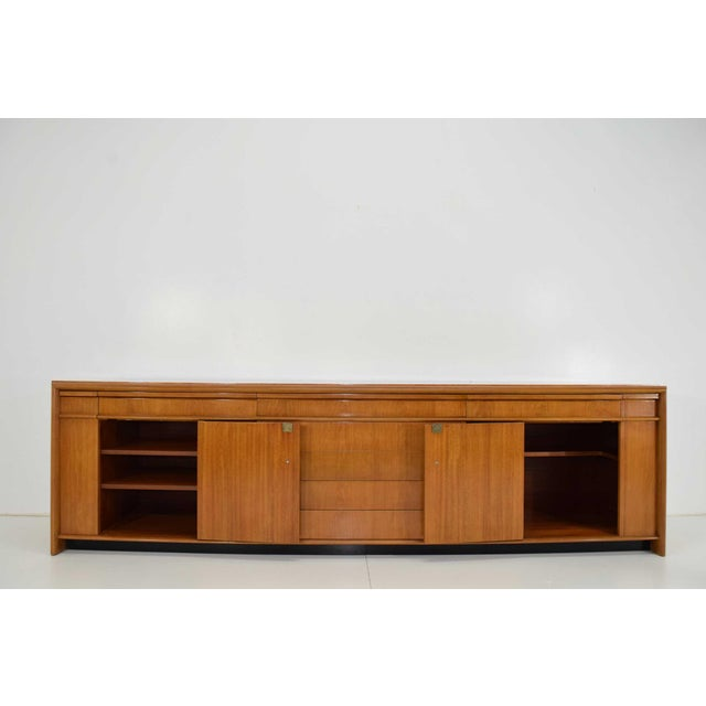 Art Deco Paul Frankl Custom Birch Cabinet For Sale - Image 3 of 13