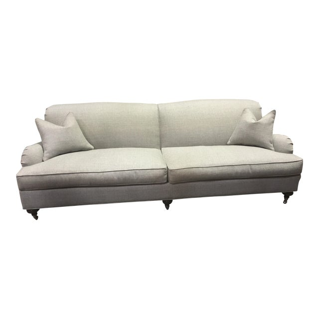 Ethan Allen Oxford Sofa For Sale