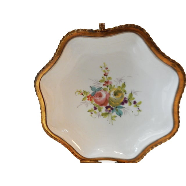 19th-C French Porcelain Dresser Box - Image 7 of 10
