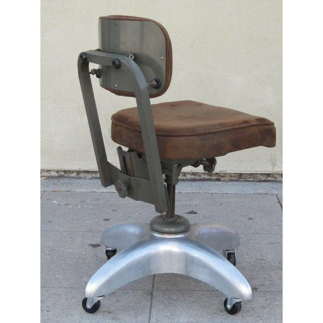 Goodform American Mid-Century Adjustable Office Chair For Sale - Image 4 of 7