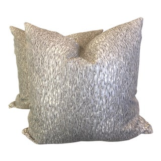 """Chromis"" by Kravet 22"" Pillows - A Pair"