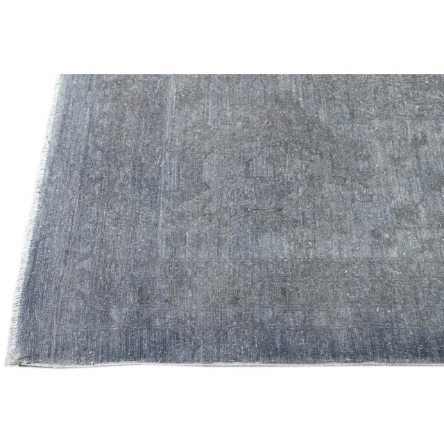 21st Century Modern Overdyed Rug For Sale In New York - Image 6 of 13