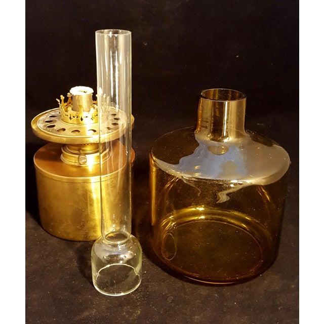Mid-Century Modern Mid-Century Hans Agne Jakobsson Modernist Swedish Oil Lamp For Sale - Image 3 of 8