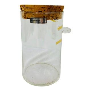 Vintage Kitchen Chemistry Handblown Pilgrim Glass Container For Sale