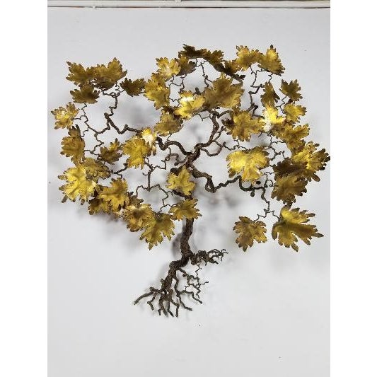 1970s Mid-Century Curtis Jere Style Tree of Life For Sale - Image 11 of 13