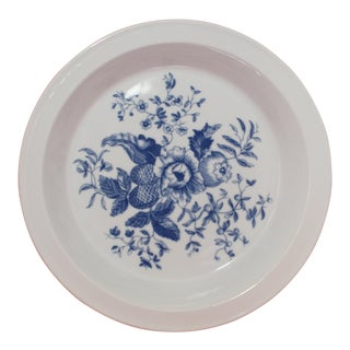 Royal Worcester Porcelain Baking Dish Rhapsody Pattern For Sale