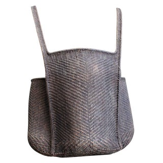 Rattan Hand Woven Backpack For Sale