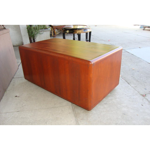 1970s Mid Century Wooden Coffee Table For Sale - Image 10 of 13