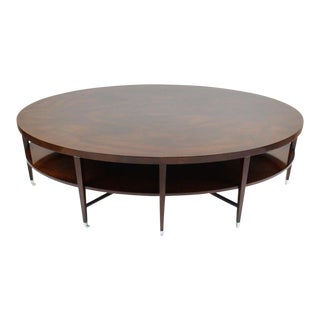 Michael Vanderbyl Round Coffee Table From the Rosenau Collection for Bolier & Company For Sale