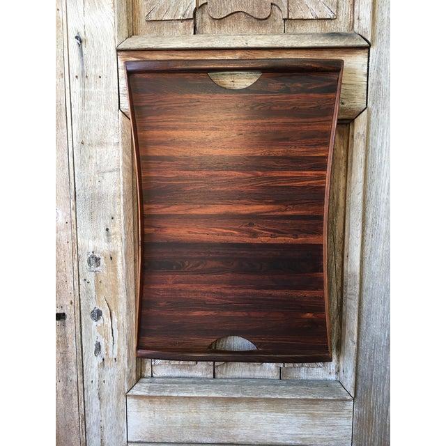 Don Shoemaker Exotic Hardwood Serving Tray For Sale - Image 10 of 13