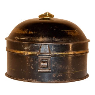 19th Century Victorian Spice Tin With Spice Grater For Sale