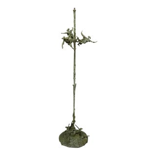 Roseline Granet Bronze Floor Lamp For Sale