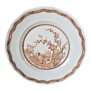 1930s Furnivals Quail Plate For Sale