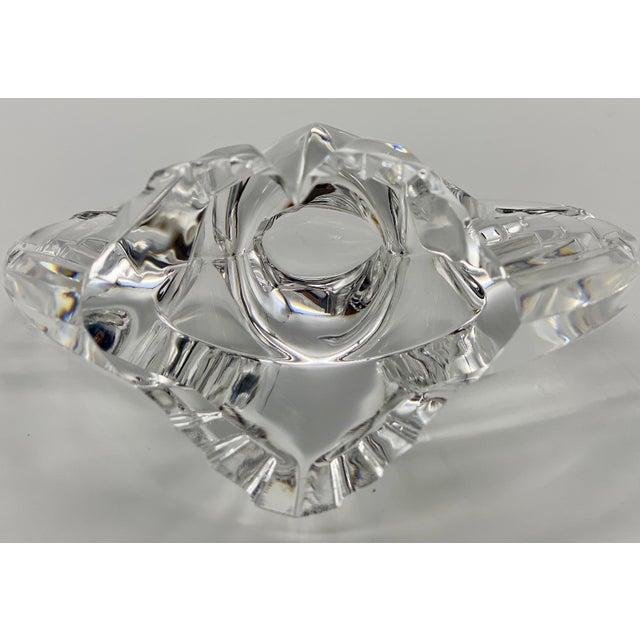 Glass Vintage Steuben Glass Lloyd Atkins Crystal Decorative Eagle For Sale - Image 7 of 13