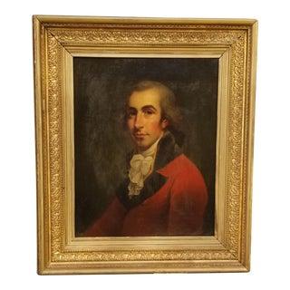 18th Century Portrait Painting For Sale