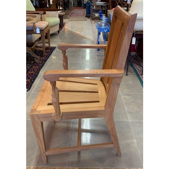 Traditional 1990s Vintage Sutherland Matisse Teak Dining Chairs- A Pair For Sale - Image 3 of 13