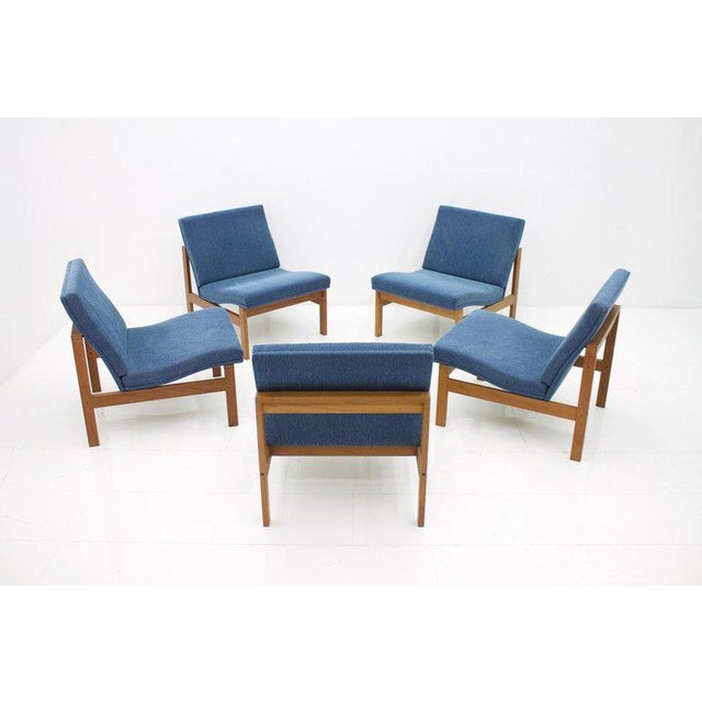 Torben Lind Modular Seating Group With Corner Table France & Son 1965 For Sale - Image 10 of 12