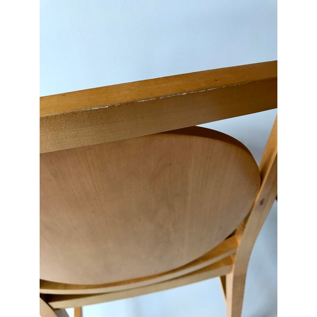 Black 1980s Vintage Ward Bennett Accent Chair For Sale - Image 8 of 9