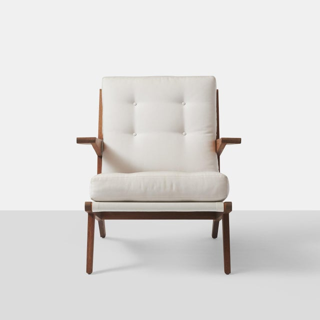 Contemporary AN OPEN ARMCHAIR EXCLUSIVELY FOR ALMOND & CO. For Sale - Image 3 of 11