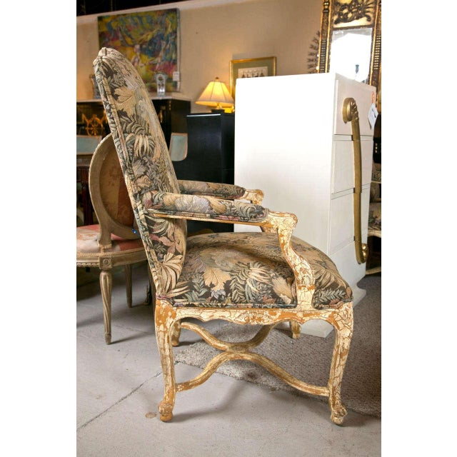 French Louis XV Style Armchairs by Jansen - A Pair - Image 4 of 10