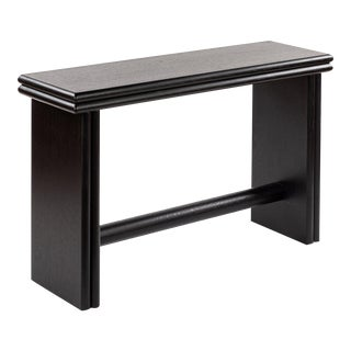 Ketchum Console Table - Small in Black For Sale