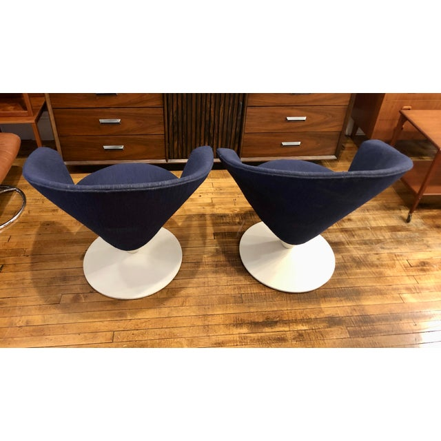1960s Mid Century Modern Adrian Pearsall Cone Chairs for Craft Associates - a Pair For Sale - Image 5 of 11