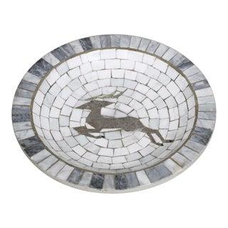 Heide Mosaic Danish Vide Poche Dish For Sale