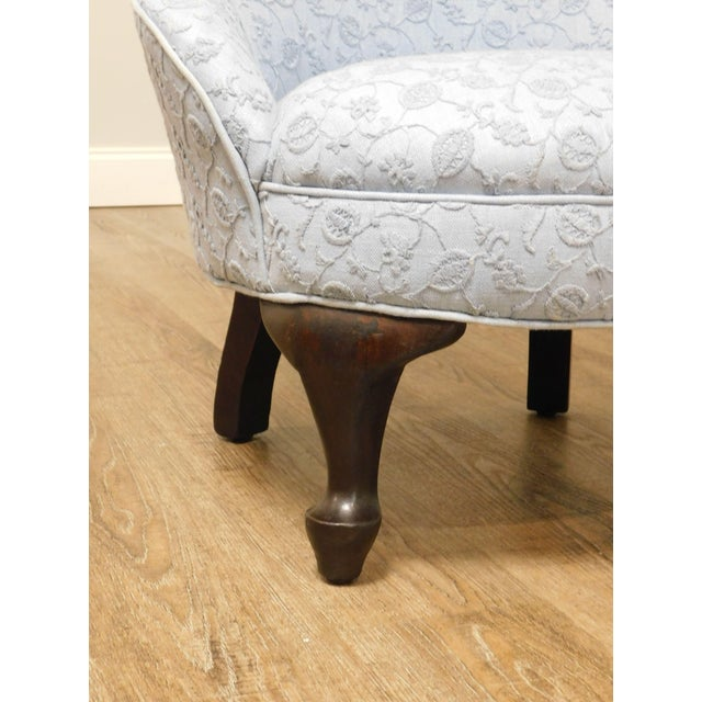 Antique Victorian Childs Slipper Chair For Sale - Image 10 of 13