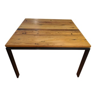 Room & Board Reclaimed Chestnut Dining Table For Sale