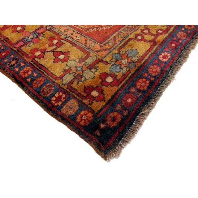 """Vintage Persian Nahavand Rug - 4'7"""" X 10'7"""" - Image 3 of 3"""