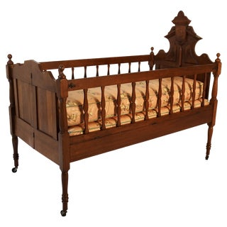 19th Century Victorian Baby Bed For Sale