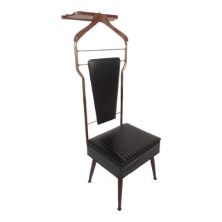 Mid-Century Modern Valet Butler Chair For Sale