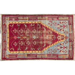 "Apadana Red Antique Turkish Rug - 3'2"" X 5'1"""