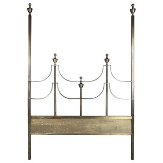 Mastercraft Full Size Brass Headboard For Sale